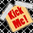 Kick Me Kick Me Icon