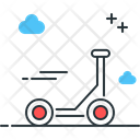 Kick Scootercycle Icon