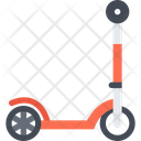 Kick Scooter Scooter Bike Icon
