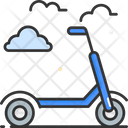 Kick Scooter Sports Scooter Scooter Icon