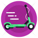 Skate Scooty Push Scooter Stunt Scooter Icon