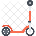 Kick Scooter Delivery Icon
