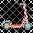 Kickboard Scooter Kick Icon