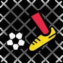 Kicking Kick Man Icon