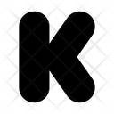 Kickstarter K Logo Icon