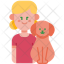Kid Dog Pet Icon