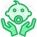 Caring Child Baby Icon