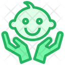 Baby Caring Child Icon
