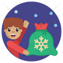 Kid Gift Gift Xmas Icon