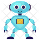 Kid Robot Baby Robot Toy Robot Icon