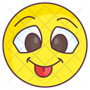 Kidding Emoji Crazy Expression Emotag Icon
