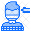 Kidnapping Hostage Gun Icon