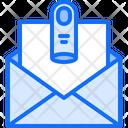 Finger Letter Message Icon
