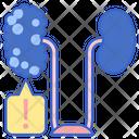 Kidney Failure Cancer Disease Icon