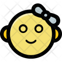 Infant Baby Face Icon