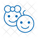 Kids Baby Icon