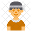 Kids Male Exercise Icon