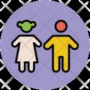 Kids Children Siblings Icon