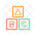 Kids Block Icon