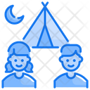 Kids Camp Icon