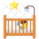 Baby Crib Baby Bed Cot Icon