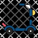 Scooty Transport Travel Icon
