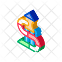Kids Slide Water Icon