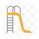 Kids Slide Playground Amusement Park Icon