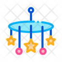 Toy Mobile Baby Icon