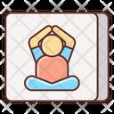 Kids Yoga Icon