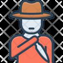 Killer Assassin Thug Icon