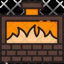 Kiln Gold Kiln Gold Burning Icon