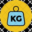 Kilogram Icon