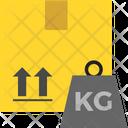 Logistics Delivery Kilogram Icon