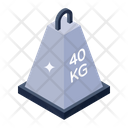 Weight Kilogram Weight Unit Icon