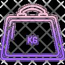 Kilogram Weight Kg Icon