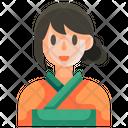 Kimono Female Woman Icon