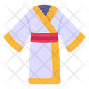 Gown Japanese Dress Kimono Icon