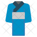 Kimono Japanese Traditional Garment Cloth Sleeves Lady Icon
