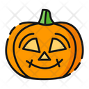 Kind Pumpkin Halloween Icon