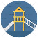 Kindergarten Childhood Play Area Icon