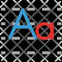 Kindergarten Tracing Alphabets Icon