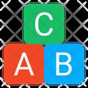 Abc Learning Basic Education Kindergarten Education Icon