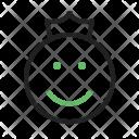 Angel Emoji King Icon