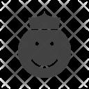 King Angel Emoji Icon