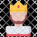 King Crown Fantasy Icon