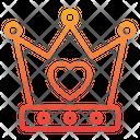 Crown King Love King Love King Icon