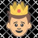 Male Monarch Ruler Icon