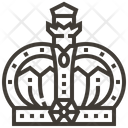 King Crown Monarchy Icon