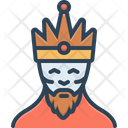 King Monarch Ruler Icon